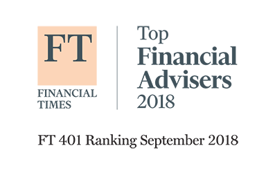 Financial Times Top Advisors of 2018 | FT 401 Ranking September 2018