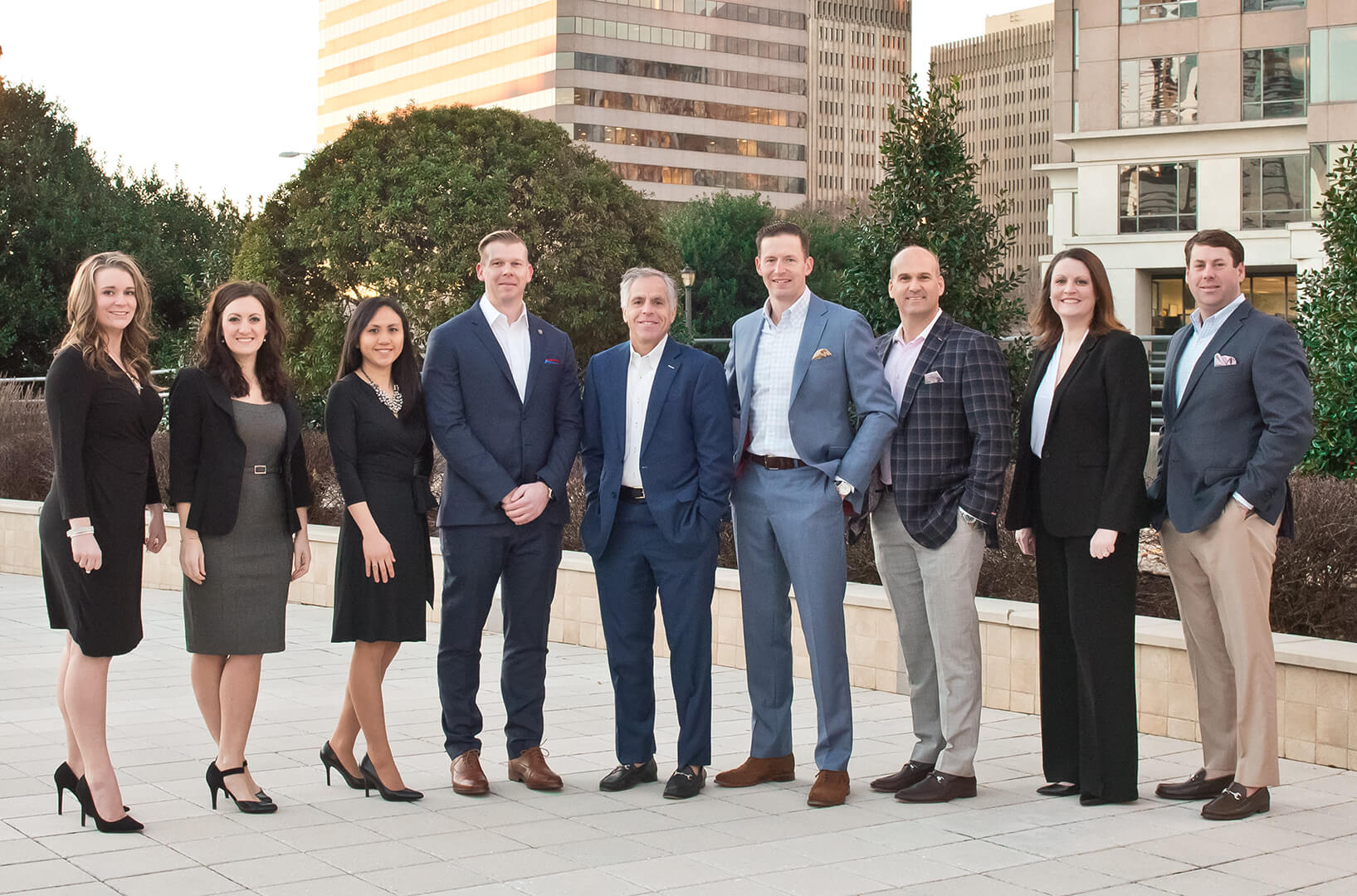 Brecher, Greenberg & Brinson Group team photo